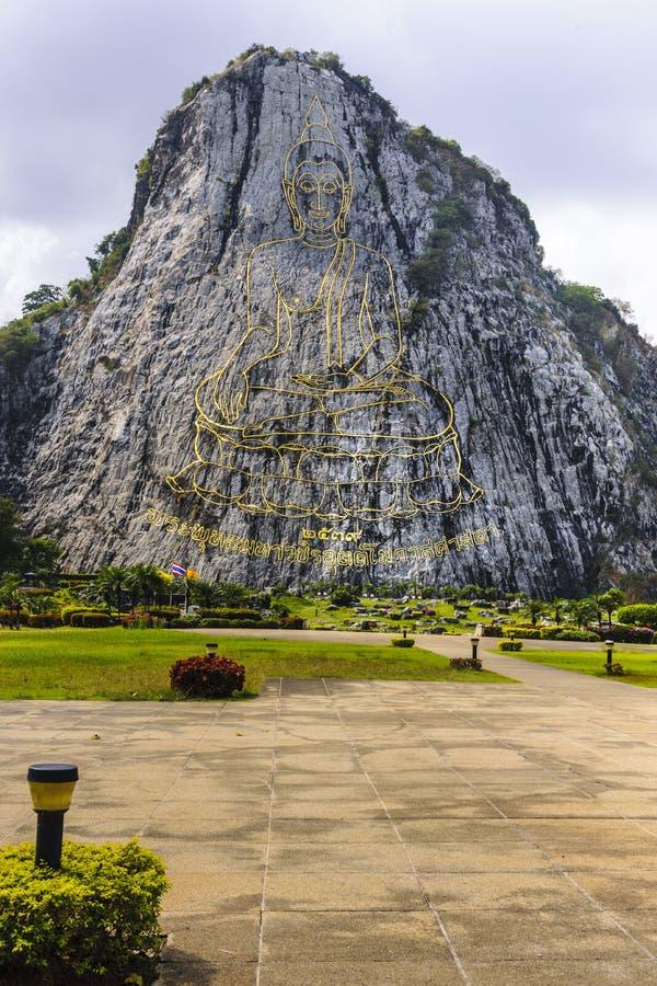 Buddhaberg royaltyfria foton