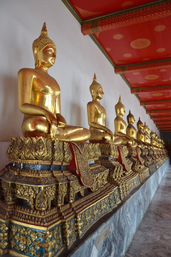 Buddhabild. royaltyfri bild
