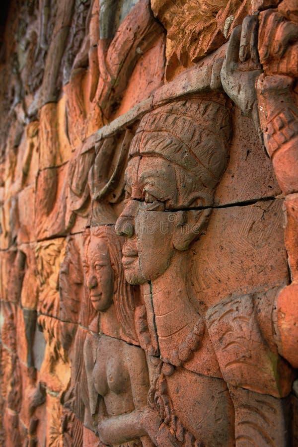 Buddhabilder royaltyfri bild