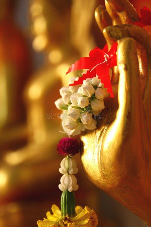 Buddhahand. royaltyfri foto