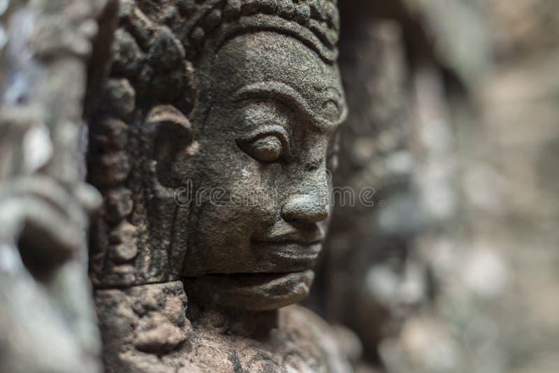 Buddhahuvud arkivfoto