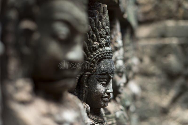 Buddhahuvud arkivfoton