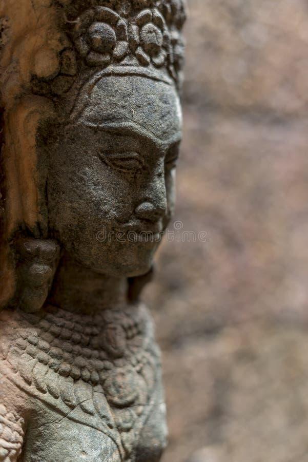 Buddhahuvud royaltyfria foton