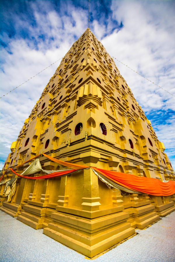 Buddhakaya Chedi στοκ εικόνα