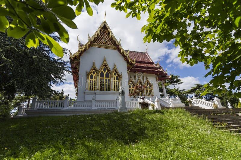 Buddhapadipa佛教寺庙 免版税库存图片