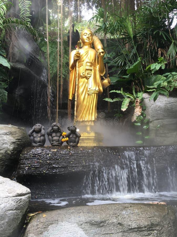 Buddharupa fotografia de stock