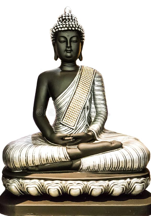 Gautam Buddha Idol royalty free stock photography