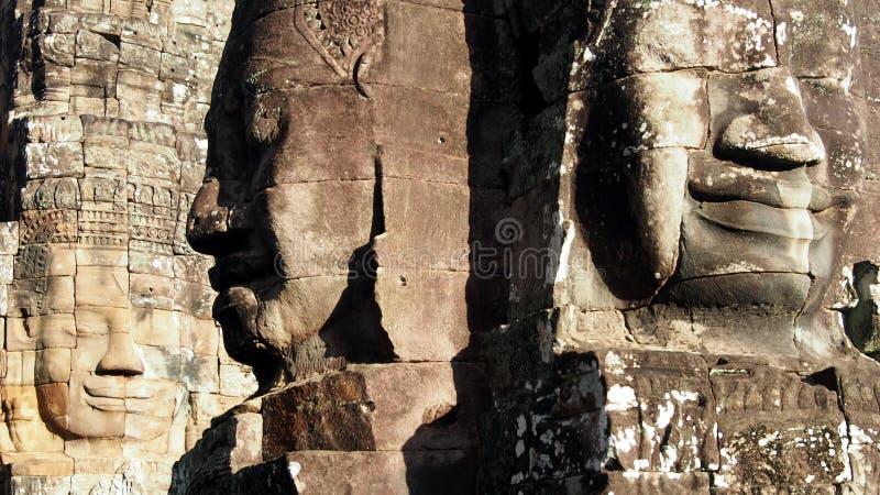 buddhas τρία στοκ εικόνες