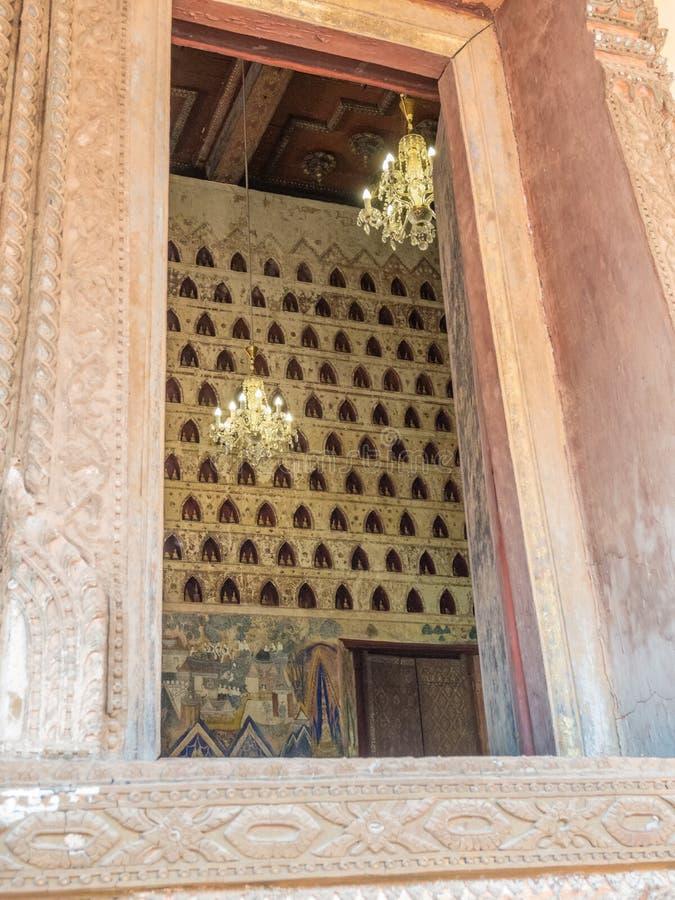 Buddhas 2000 Лаос vientiane стоковая фотография rf