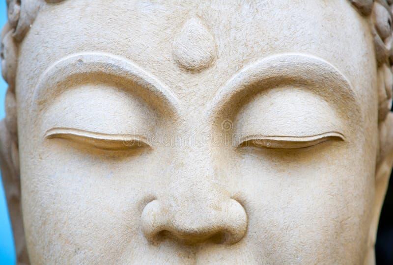 Buddhas Augen lizenzfreies stockfoto