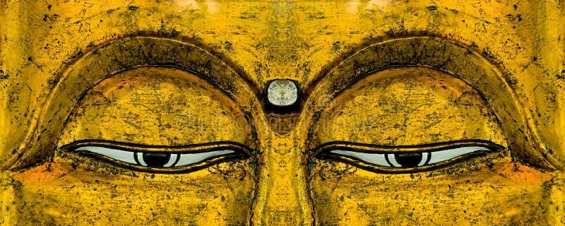 Buddhas Augen stockfotografie