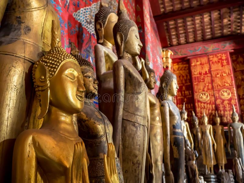 Buddhas d'Ancien photo libre de droits