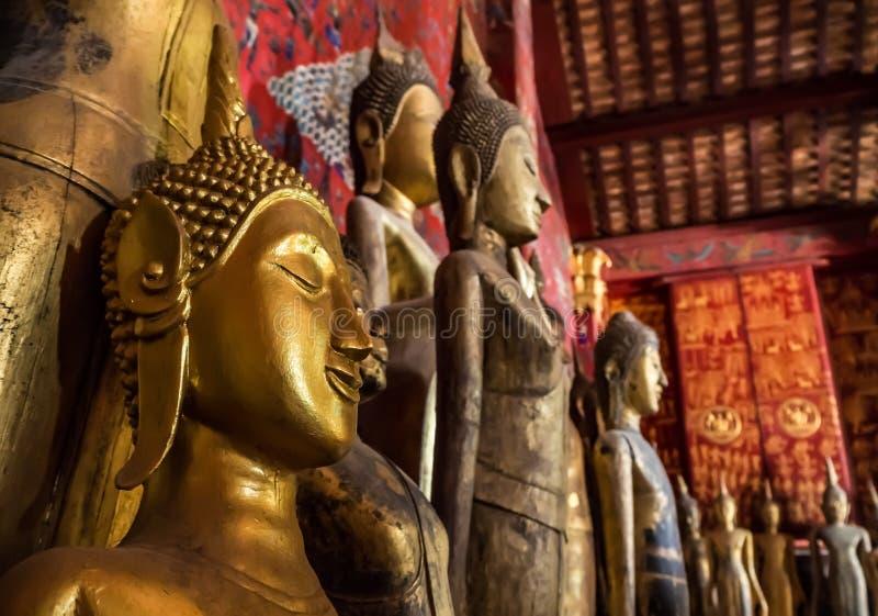 Buddhas de Ancien foto de stock