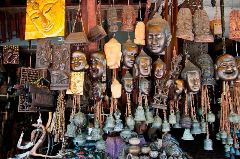 Buddhas e Bels fotografia de stock