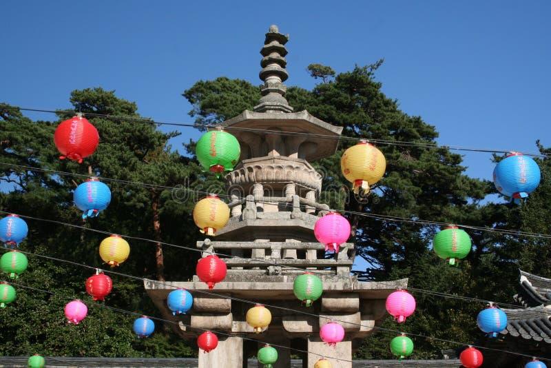 Buddhas Geburtstag lizenzfreie stockbilder