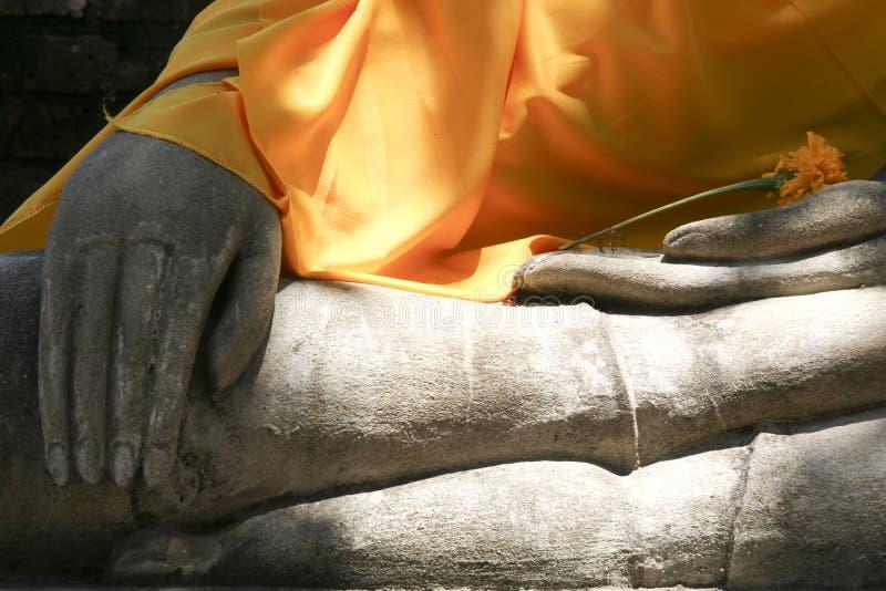 Download Buddhas Hands stock photo. Image of meditation, orange - 6574348