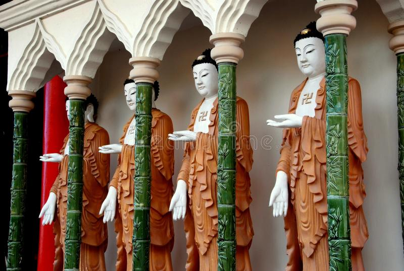 buddhas kek lok马来西亚槟榔岛si 免版税库存照片