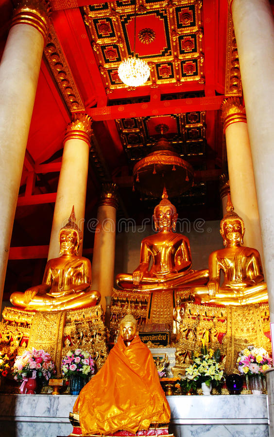 Buddhas Meditating fotos de stock
