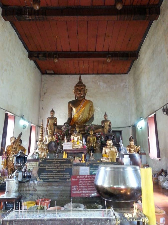 Buddhas Meditating fotos de archivo libres de regalías