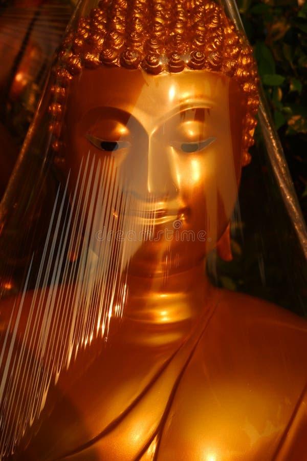 Buddhas para la venta en el mercado de Buda fotografía de archivo libre de regalías