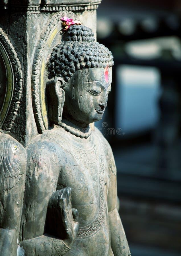 buddhas statua fotografia stock