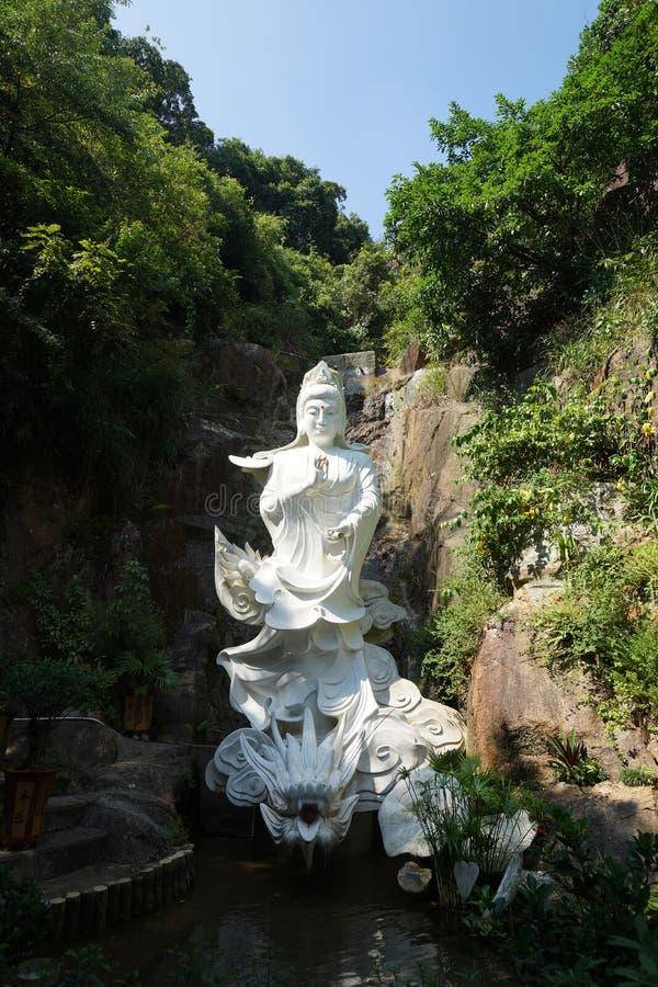Buddhasklooster van het tienduizend royalty-vrije stock afbeelding