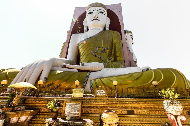 Buddhastaty, Myanmar arkivbilder