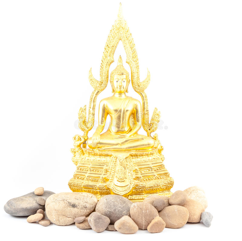 Buddhawhitstenar royaltyfri foto