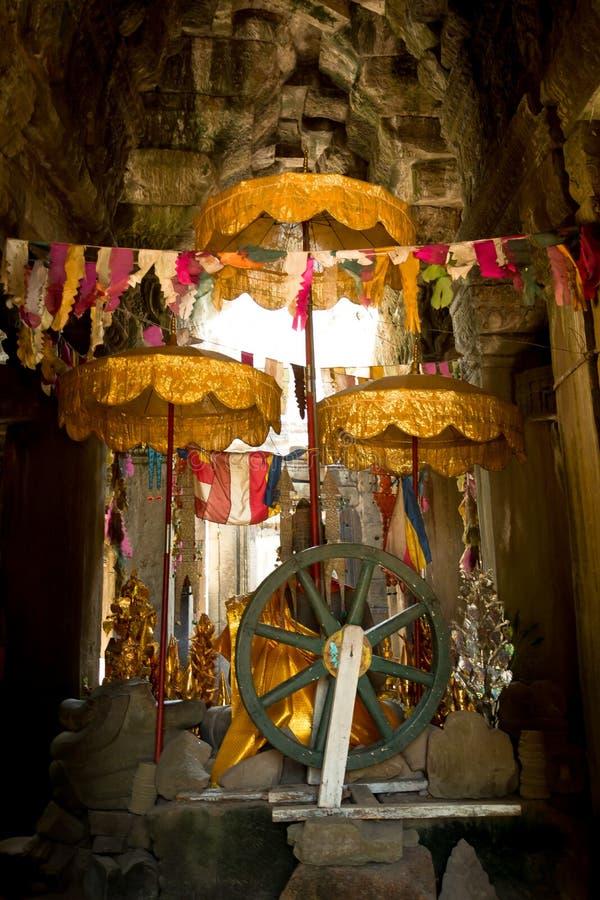 Buddhism de Banteay Kdei imágenes de archivo libres de regalías