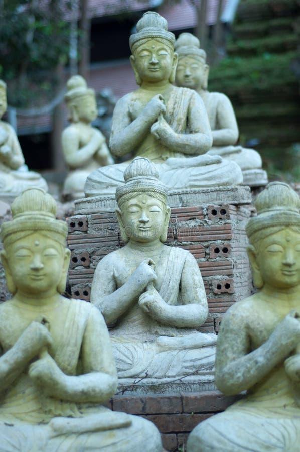 Buddhism em Tailândia imagens de stock royalty free