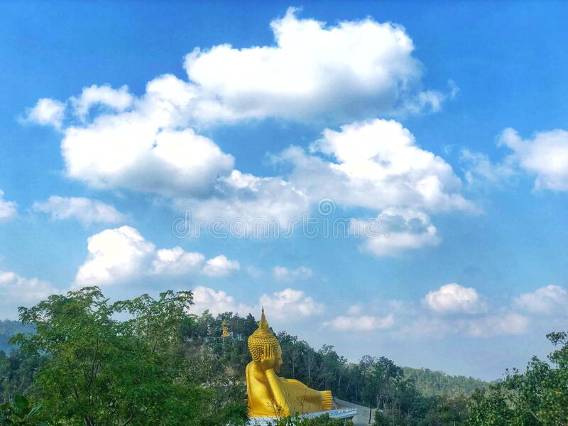 """Buddhism is a faith that was founded by Siddhartha Gautama (""""the Buddha"""") royalty free stock photography"""