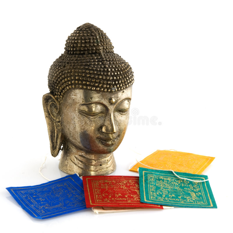 Download Buddhism objects stock photo. Image of isolated, head - 7720396