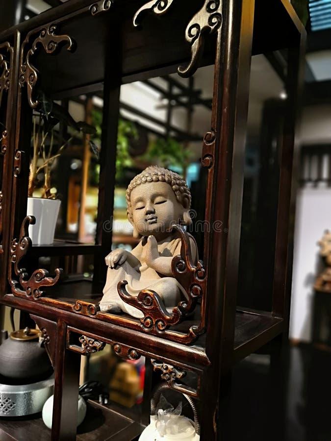 Buddhism rze?ba w sklepie obrazy stock