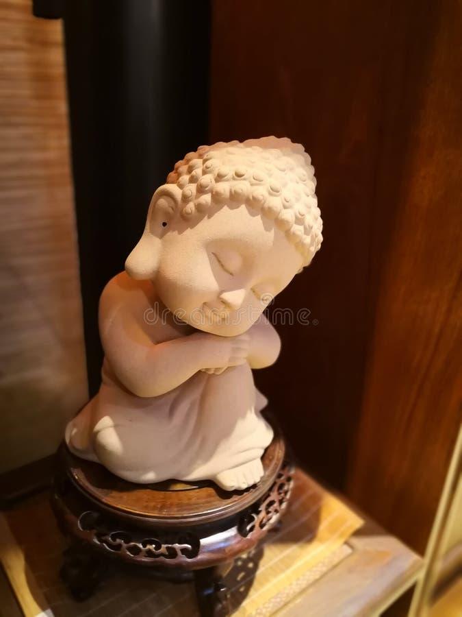 Buddhism rze?ba w sklepie fotografia stock