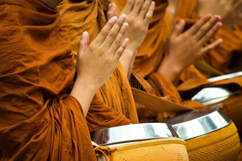 Buddhist in Asien stockfotos