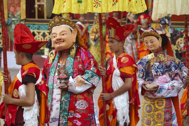 Buddhist ceremony stock photo