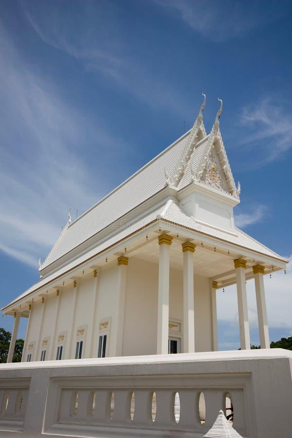 Buddhist church. At Rayong Thailand stock images