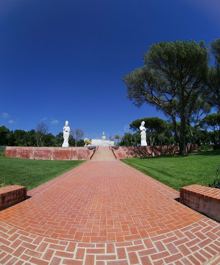 Download Buddhist Garden - Statue Stock Photos - Image: 15168673