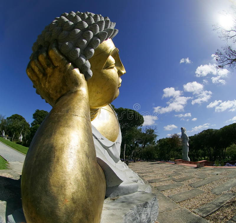 Download Buddhist Garden - Statue stock image. Image of asian - 15168703