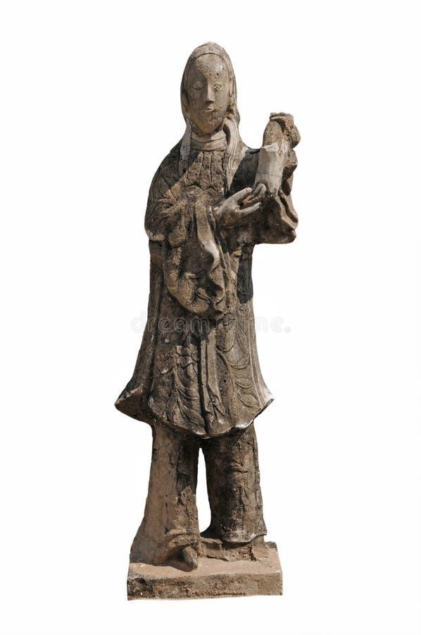 Buddhist Goddess Statue Royalty Free Stock Photo