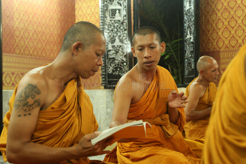 Buddhist monastery in Koh Chang, Thailand royalty free stock photography