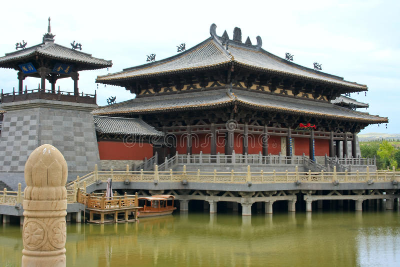 Buddhist monastery royalty free stock images