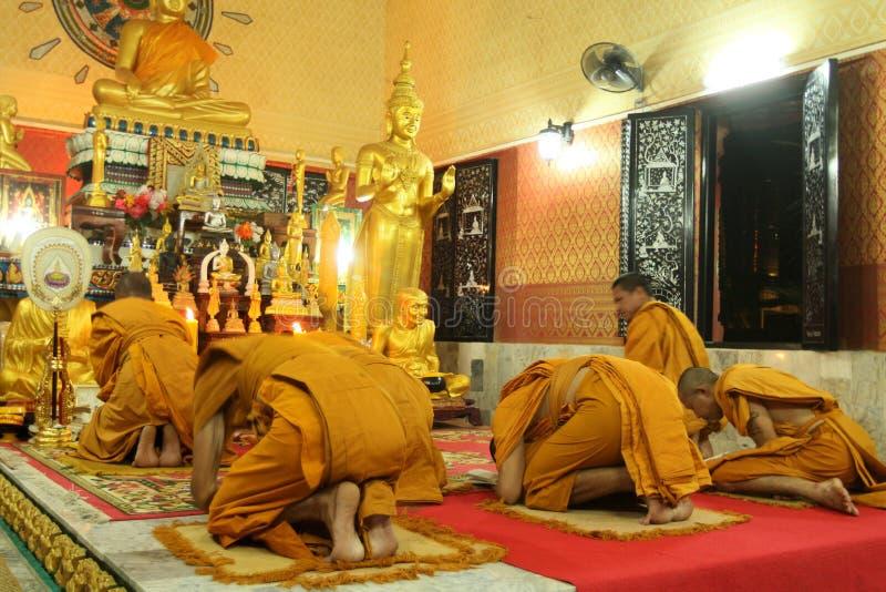 Buddhist monastery Wat Klong Prao royalty free stock images