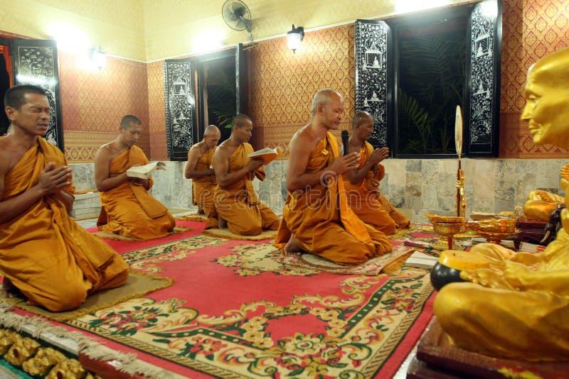 Buddhist monastery Wat Klong Prao in Koh Chang stock photo