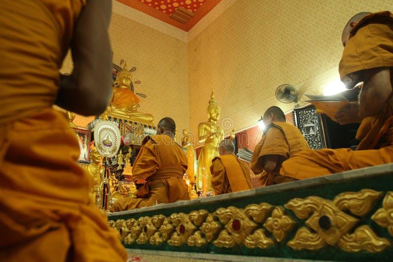 Buddhist monastery Wat Klong Prao in Koh Chang royalty free stock image