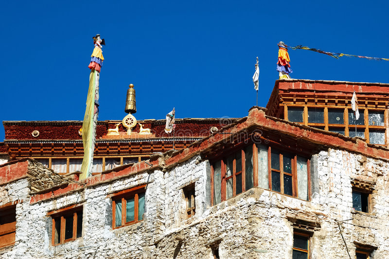 Buddhist monastry royalty free stock images