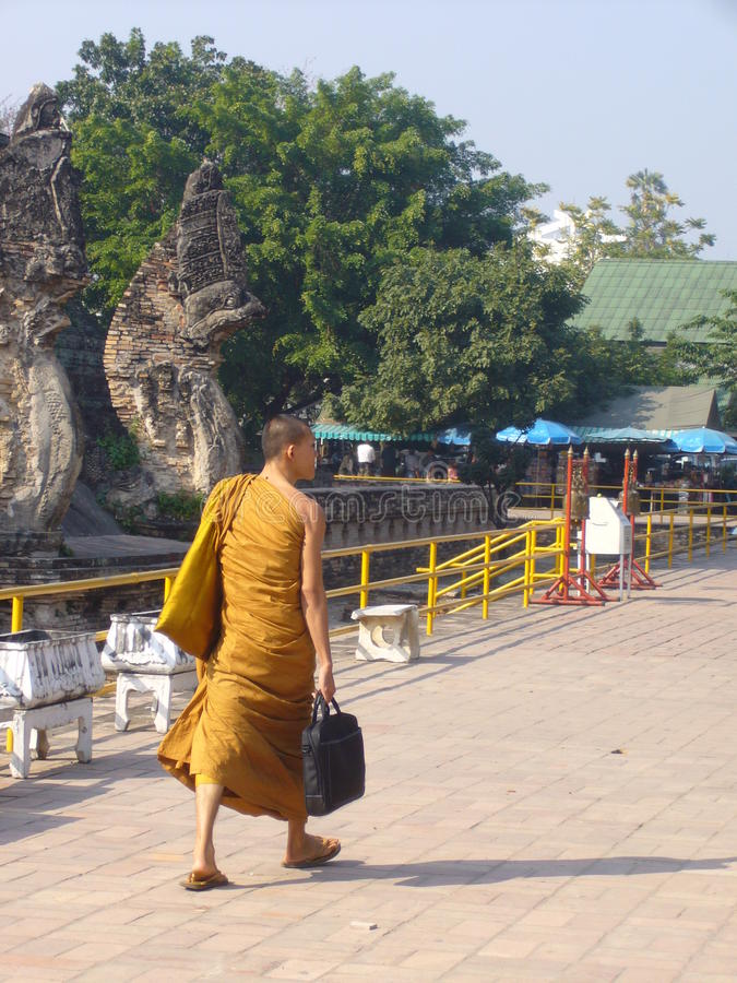 Download Buddhist monk editorial photo. Image of fabric, biceps - 20344261
