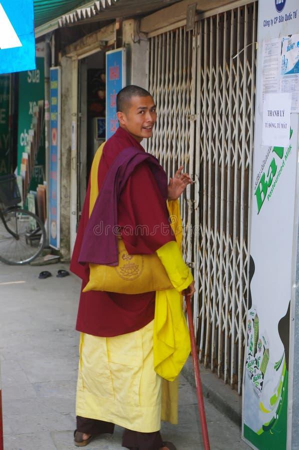 Buddhist monk royalty free stock photography