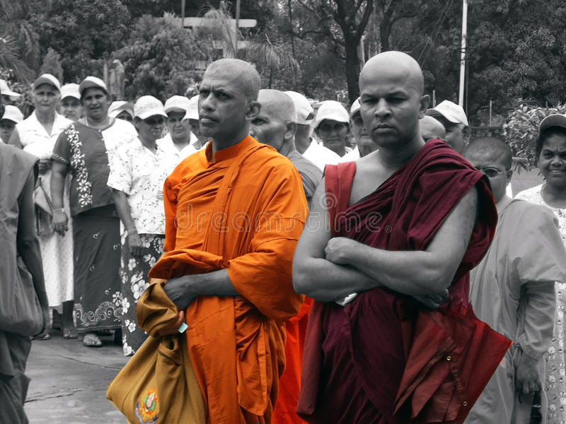 Download Buddhist Monks editorial photography. Image of tourists - 19282107
