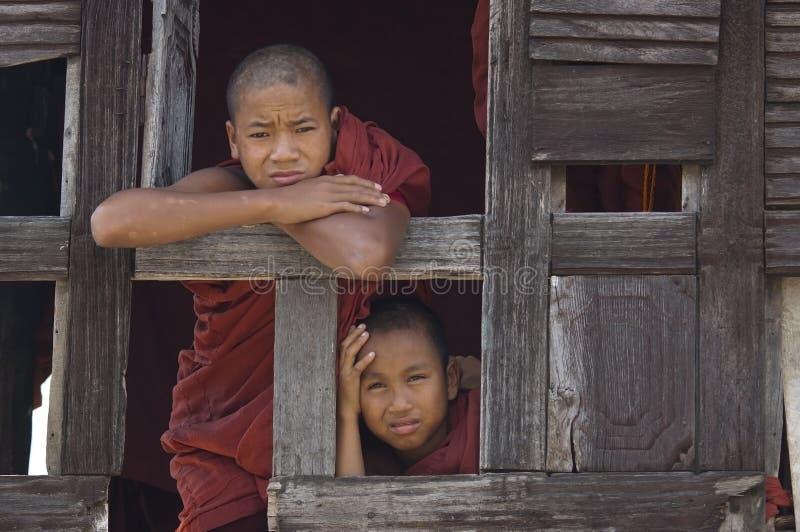Buddhist Monks In Myanmar (Burma) Editorial Image